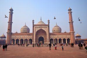 india - Delhi - Jama Masjid - Voyages Personnalisés